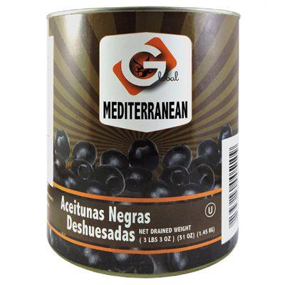 Aceituna negra deshuesada - Vegetales procesados Colombia - Globalim