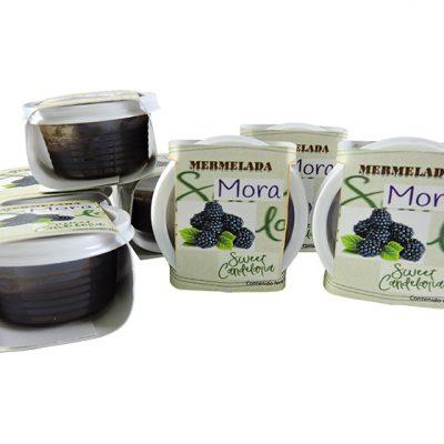 Mermelada individual de mora - Panadería y repostería Colombia - Globalim
