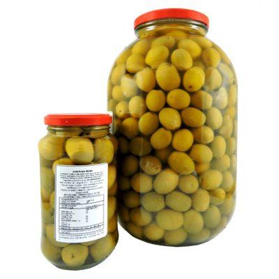 Aceituna verde reina - Vegetales procesados Colombia - Globalim