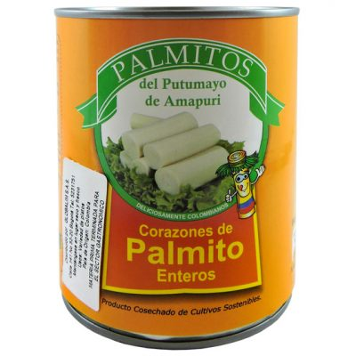 Palmito natural - Vegetales procesados Colombia - Globalim