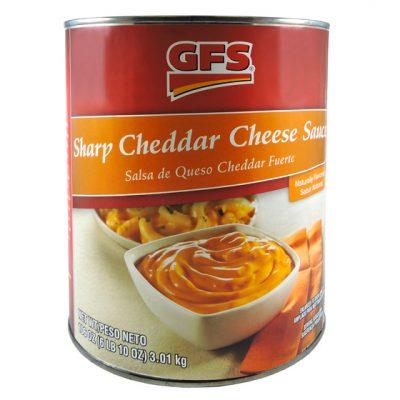 Salsa de Queso Cheddar GFS - Salsas y Aderezos Colombia - Globalim
