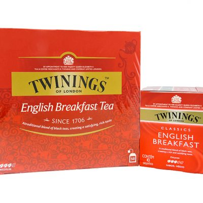 Té Twining's English Breakfast - Bebidas Mezcladores Colombia - Globalim