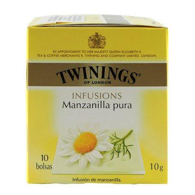 Té Twining's Infusión Manzanilla - Bebidas y Mezcladores Colombia - Globalim