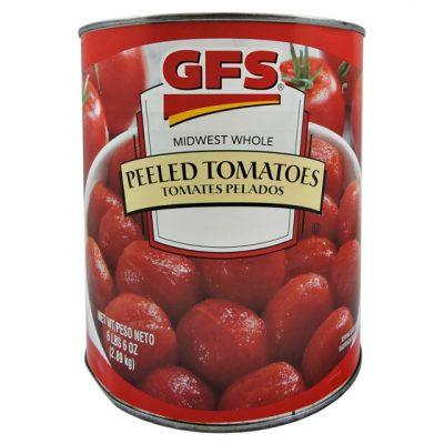 Tomate entero pelado gfs - Vegetales procesados Colombia - Globalim