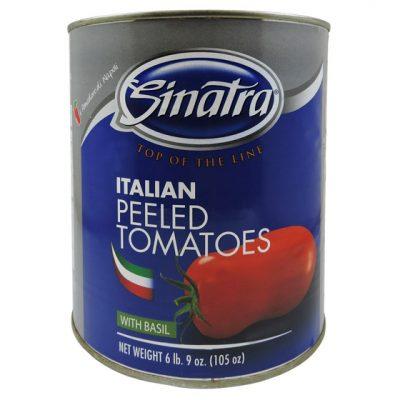 Tomate entero pelado italiano - Vegetales procesados Colombia - Globalim