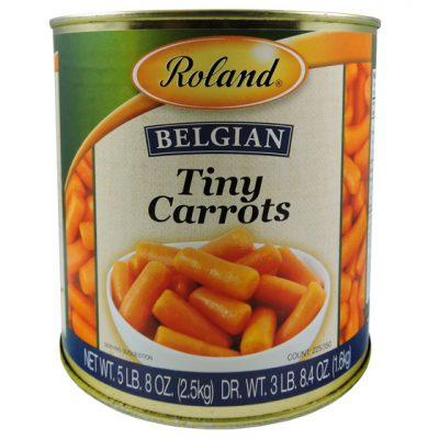 Zanahoria miniatura - Vegetales procesados Colombia - Globalim